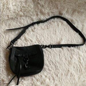 NWOT Rebecca Minkoff Black Crossbody Leather Bag